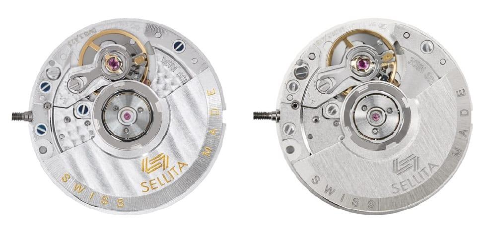 Das Sellita SW1000 mit 20 Millimetern Durchmesser und 3,9 Millimetern Bauhöhe ist für Damenuhren