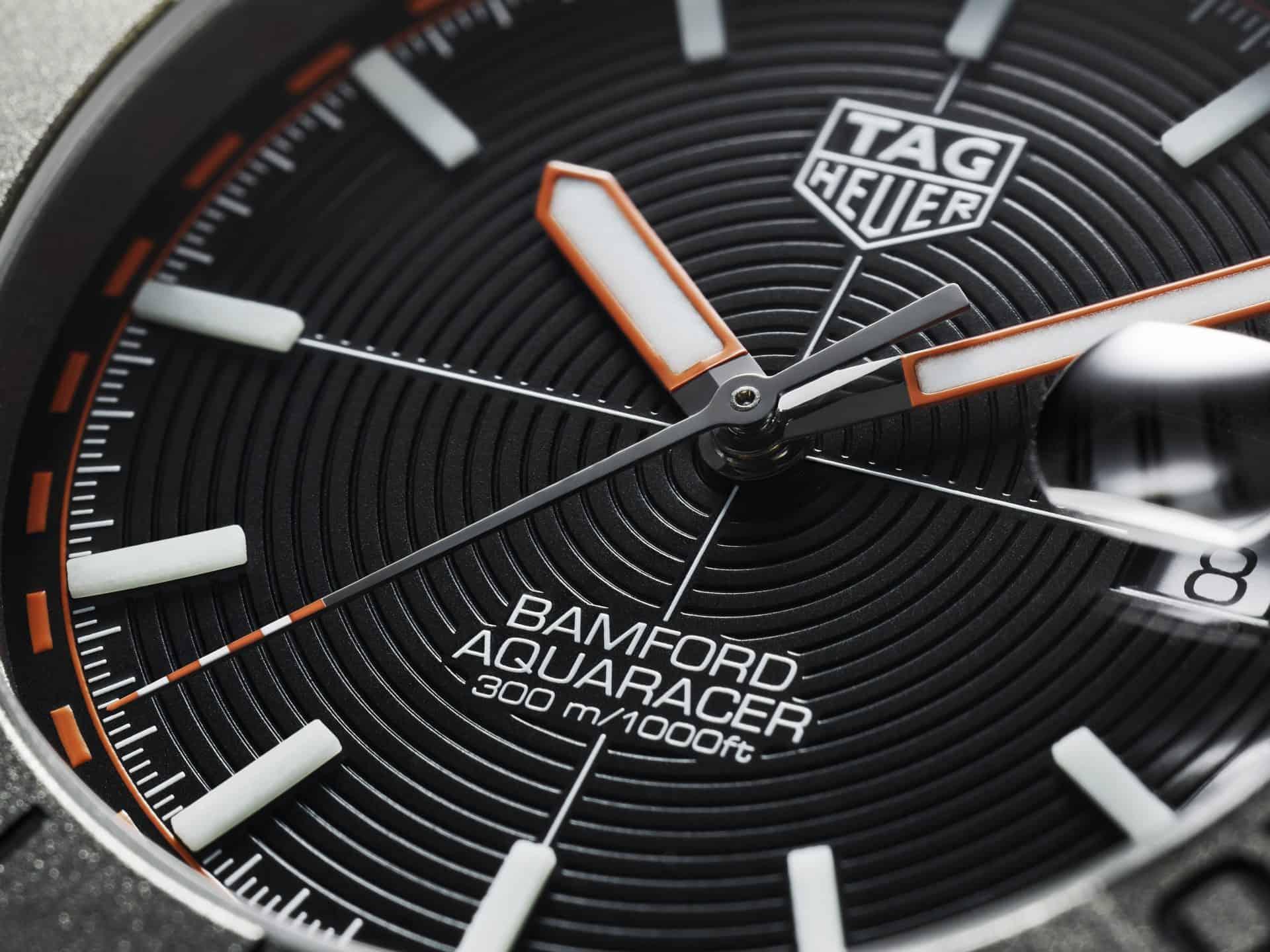 Zifferblatt TAG Heuer Aquaracer Bamford Limited Edition