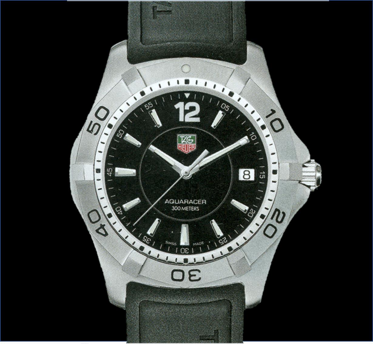 TAG Heuer Aquaracer Calibre 5 aus dem Jahr 2005