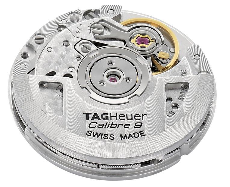 Das TAG Heuer Calibre 9 basiert auf dem Uhrwer SW1000 der Herstellers Sellita