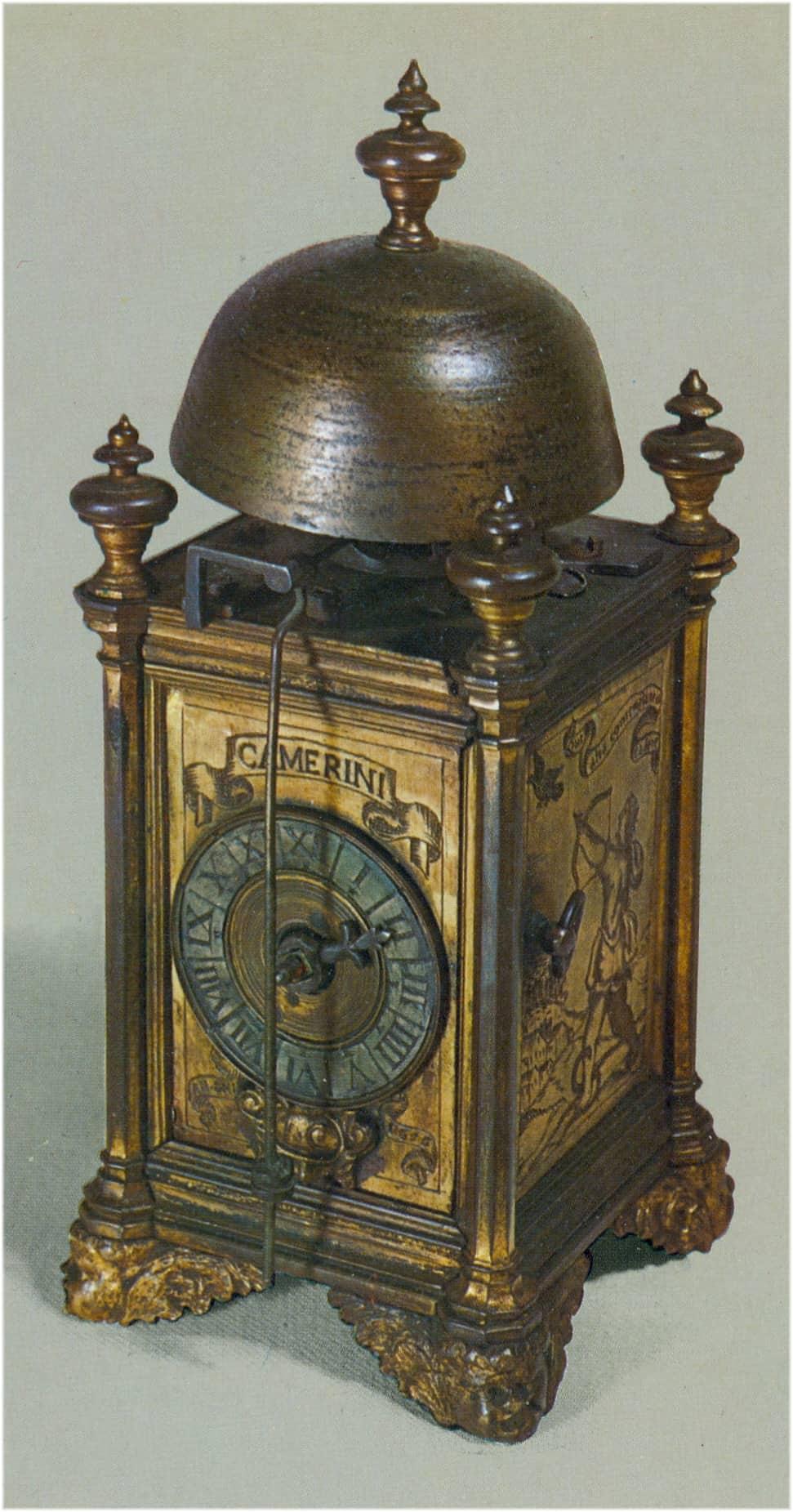 Repetitionsuhr mit Türmchen aus dem 17. Jahrhundert