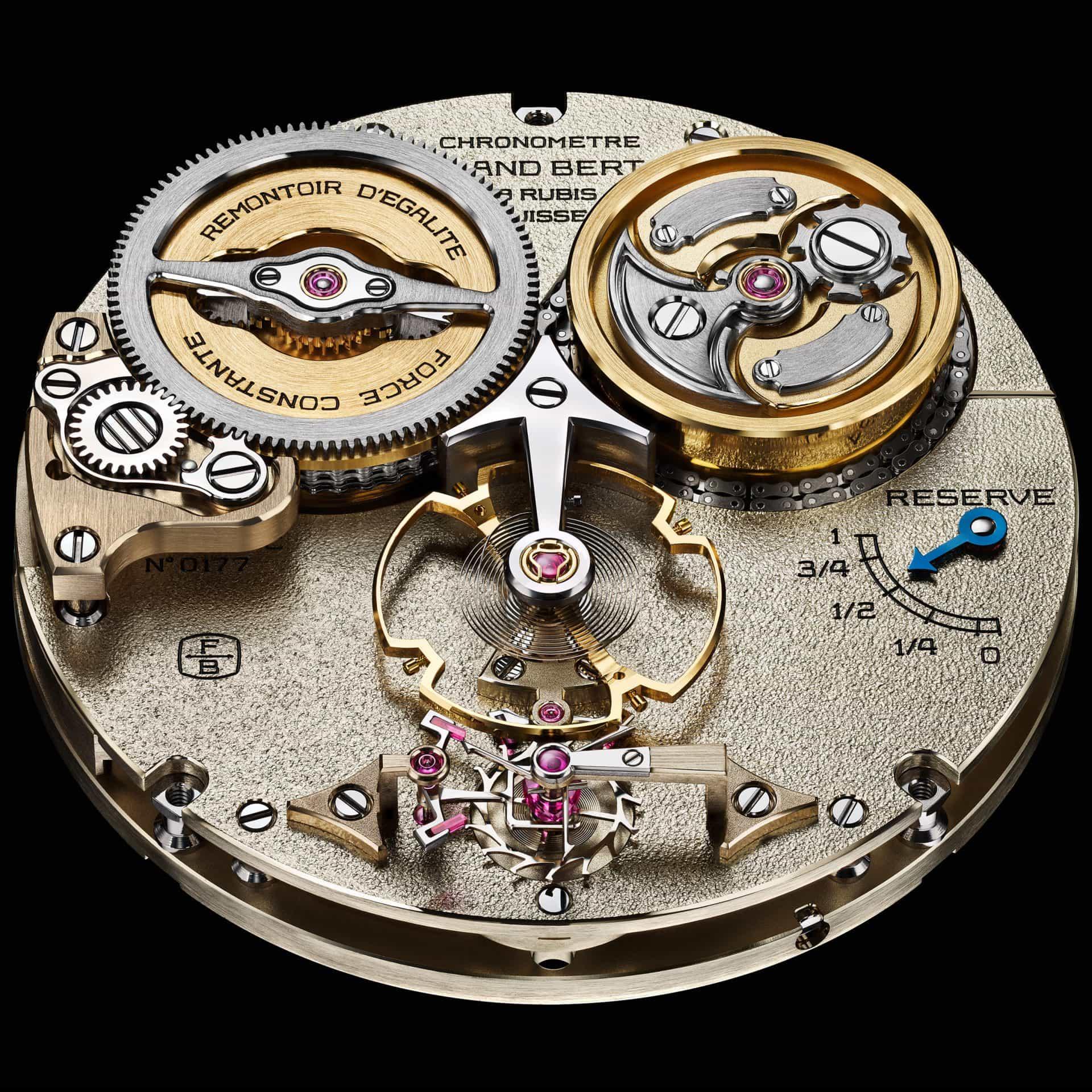 Kaliber der Ferdinand Berthoud Chronometrie FB 2RE.2
