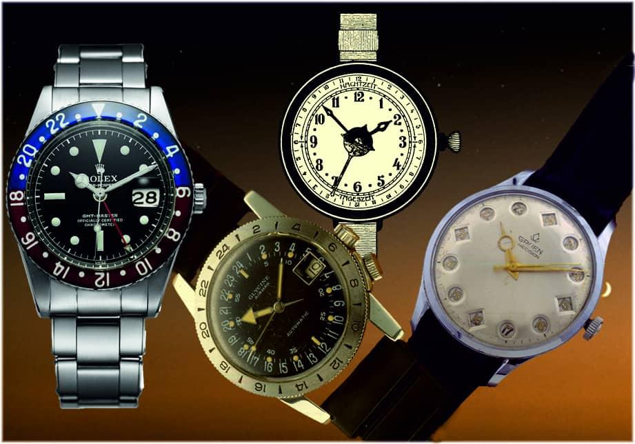 Mechanische Armbanduhren mit 24 Stundenanzeige24 Stundenanzeige – das bedeutet nur eine Umdrehung pro Tag