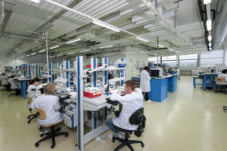 Die Fertigungsstätten Vaucher Manufacture Fleurier