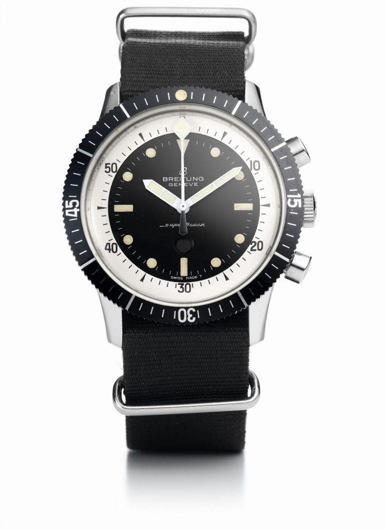 Alter Breitling Superocean Chronograph Original Ref 807
