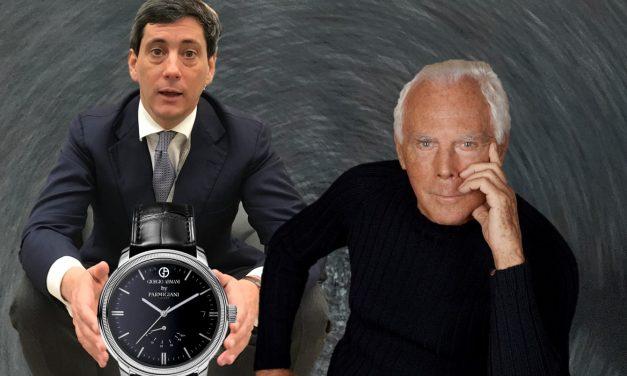 Die Uhrenkollektion Parmigiani Giorgio Armani wird eine tickende Luxus-Kooperation