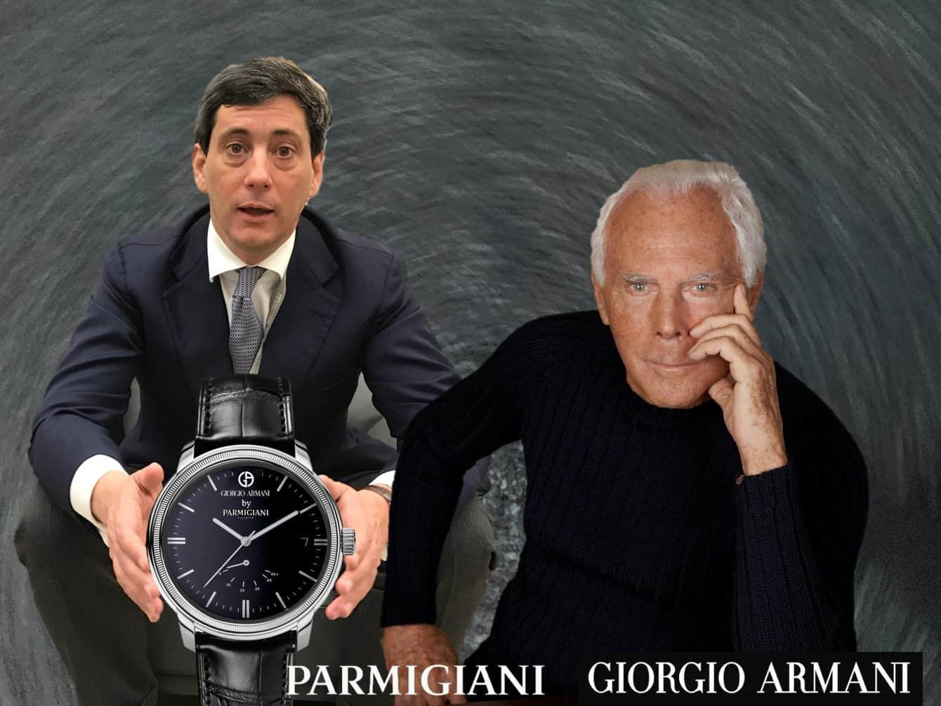 Parmigiani Fleurier Giorgio Armani Kollektion