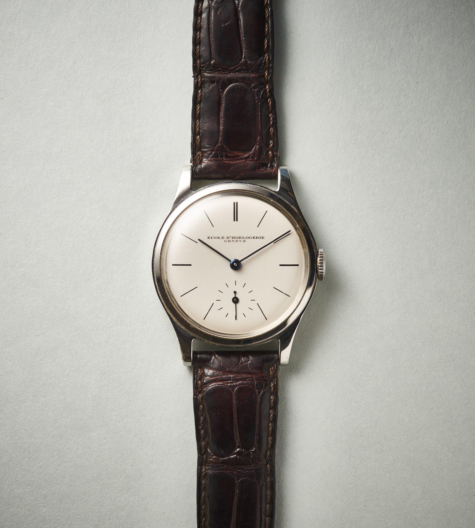 Ecole dHorlogerie Geneve Patek Philippe Ref 2509 Gesicht Uhrenkosmos BU 11334