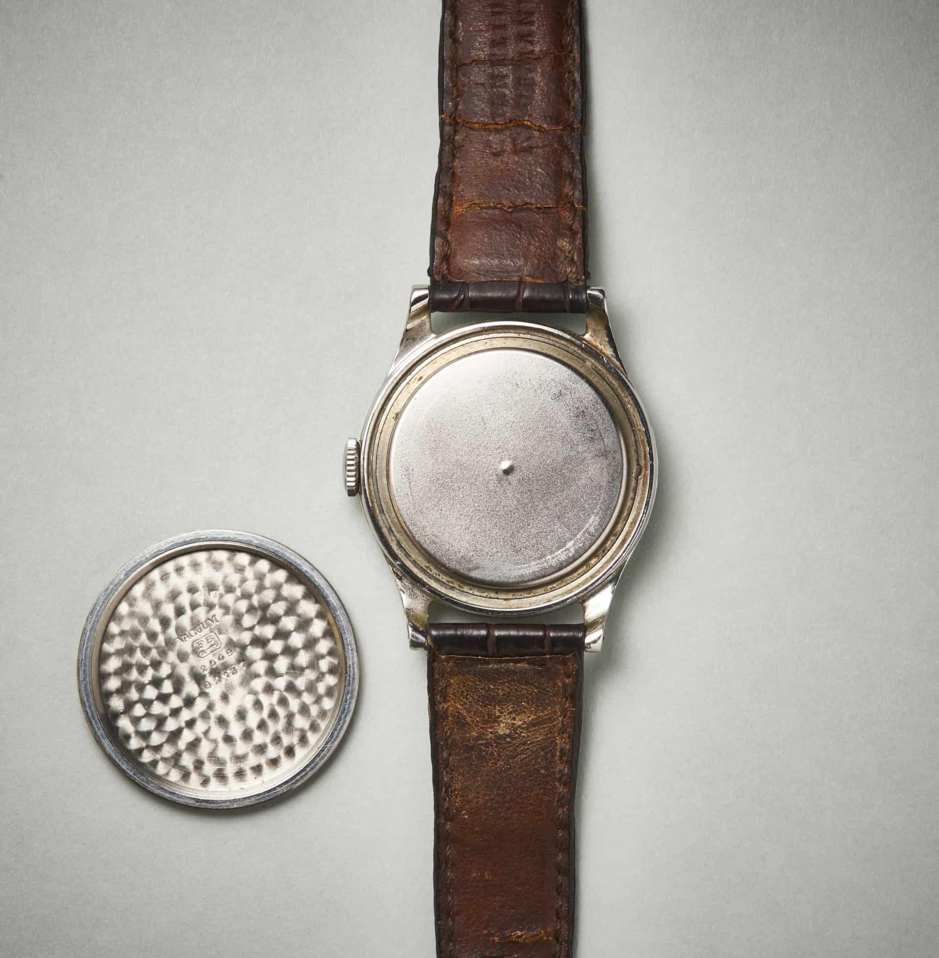 Ecole dHorlogerie Geneve Patek Philippe Ref 2509 Staubdeckel Uhrenkosmos