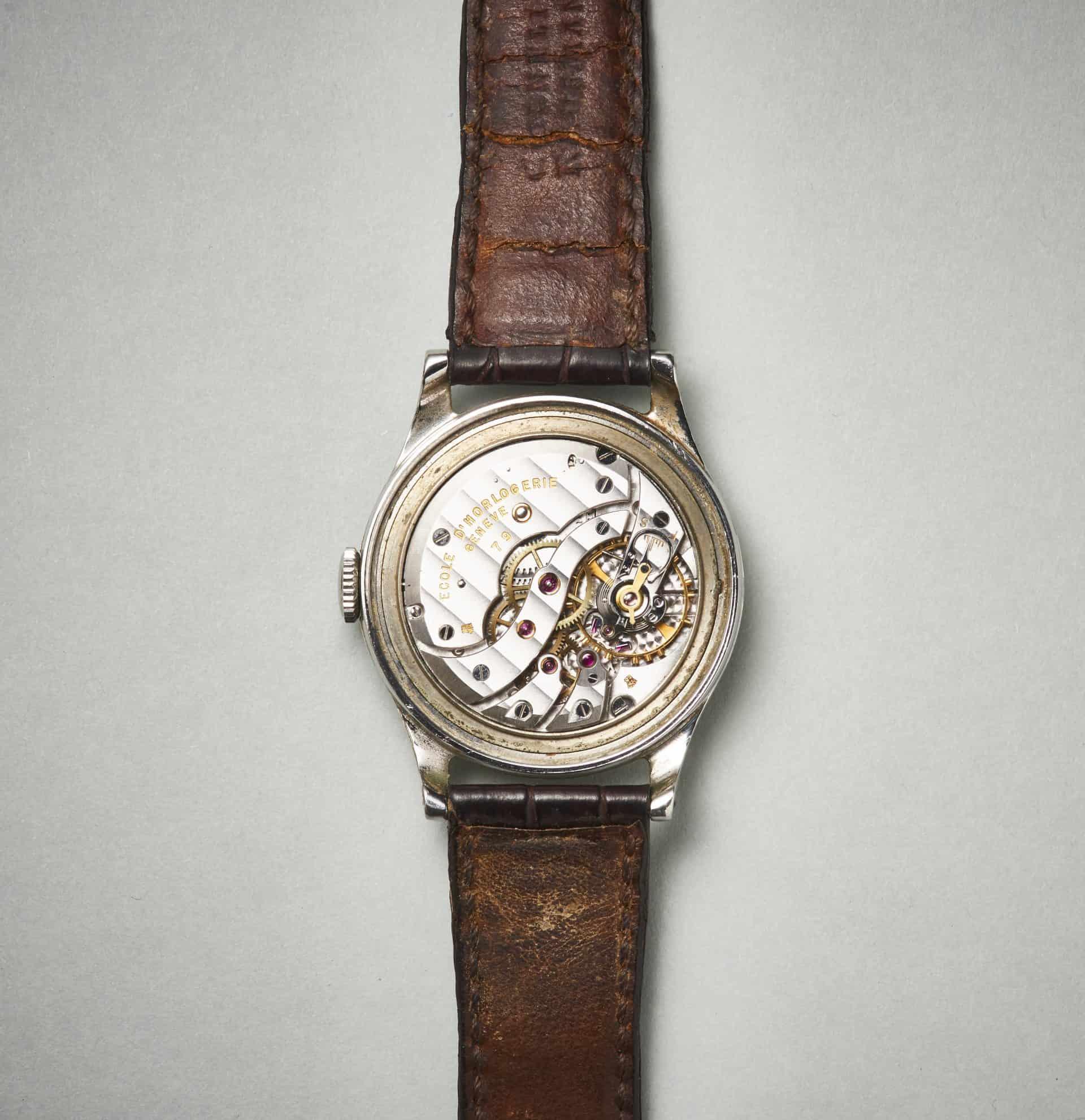 Ecole dHorlogerie Geneve Patek Philippe Ref 2509 Werk Uhrenkosmos