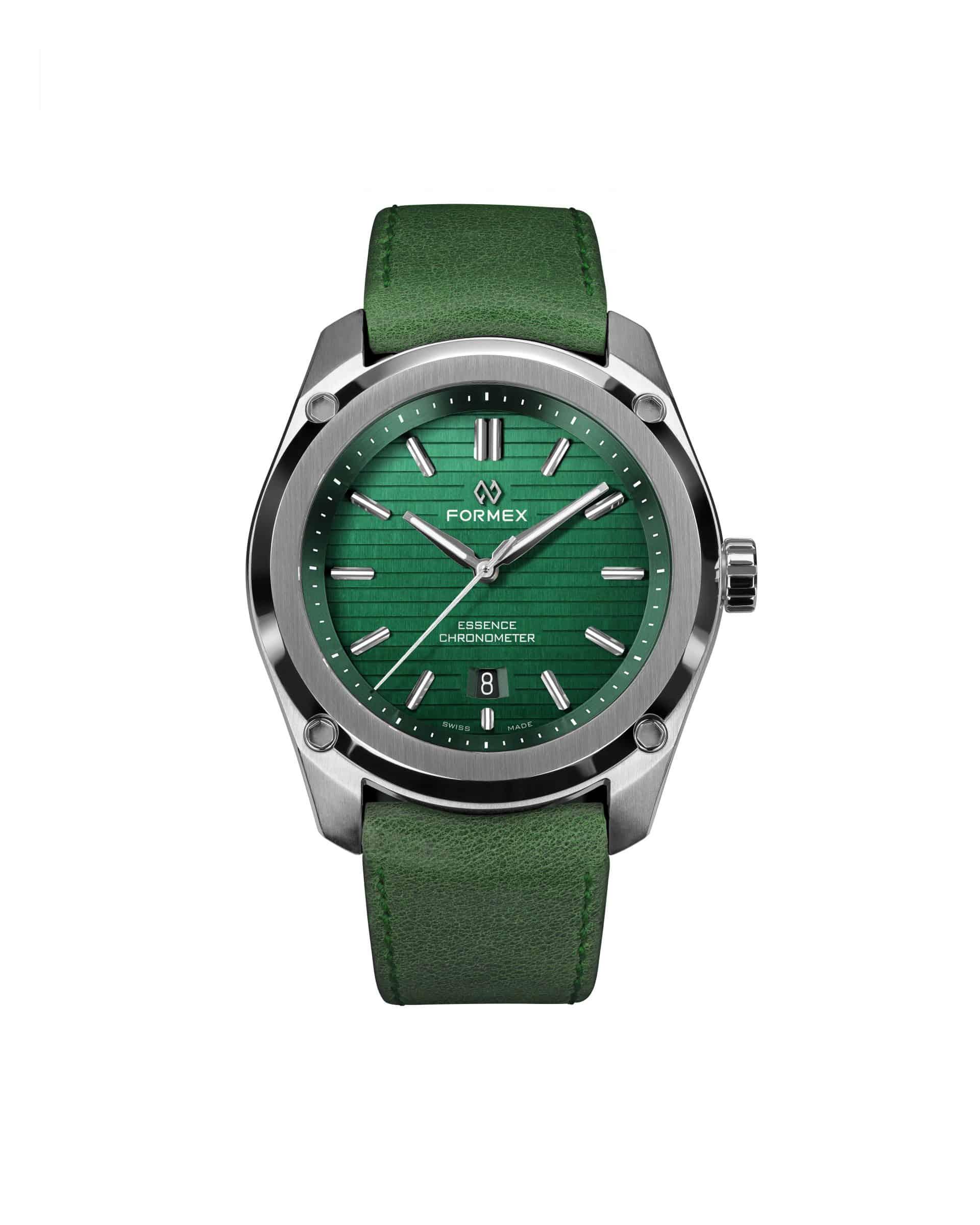 Grünes Zifferblatt - die Formex Essence Thirtynine 0333.1.6600.710