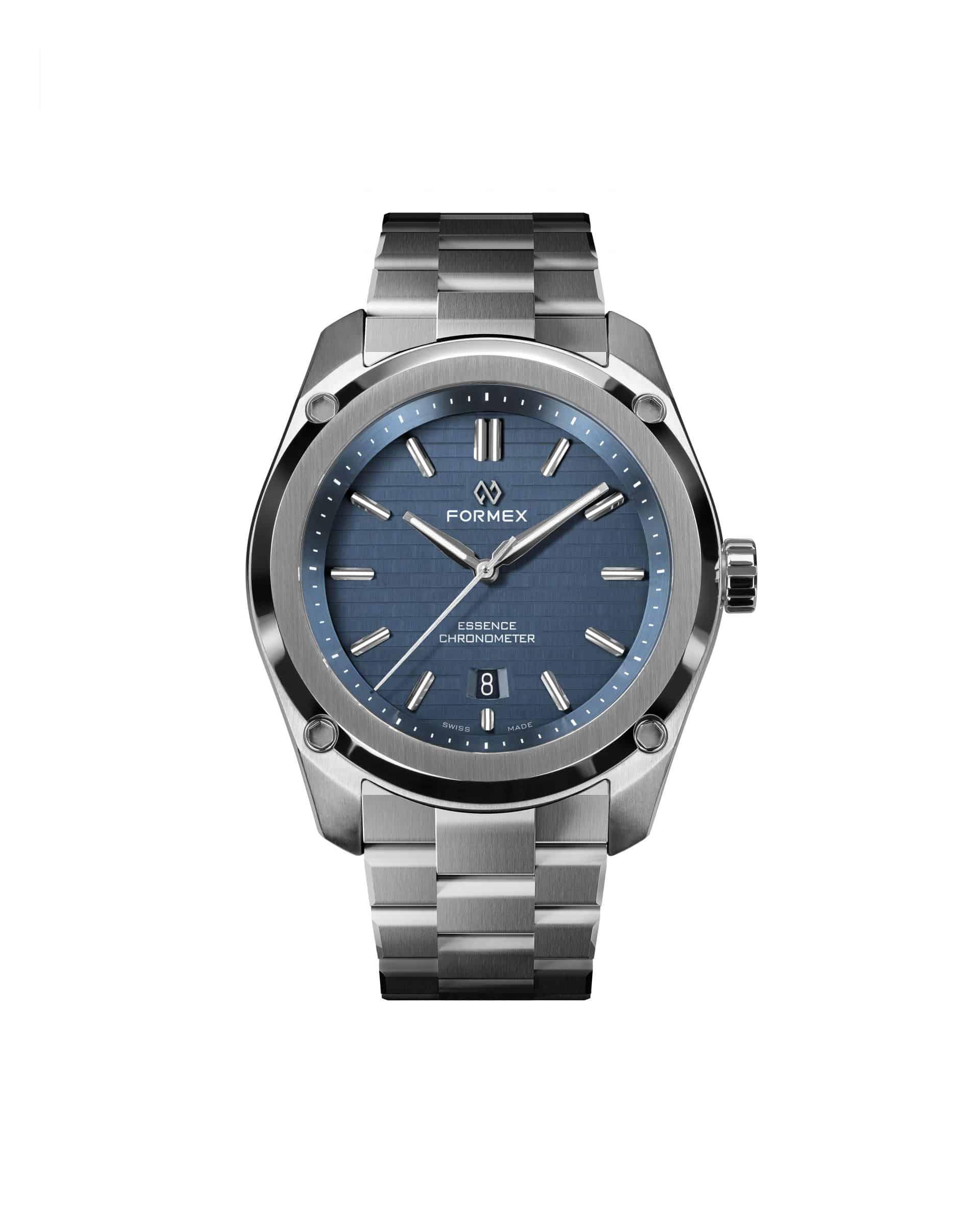 In Blau mit Stahlband - die Formex Essence Thirtynine 0333.1.6631.100