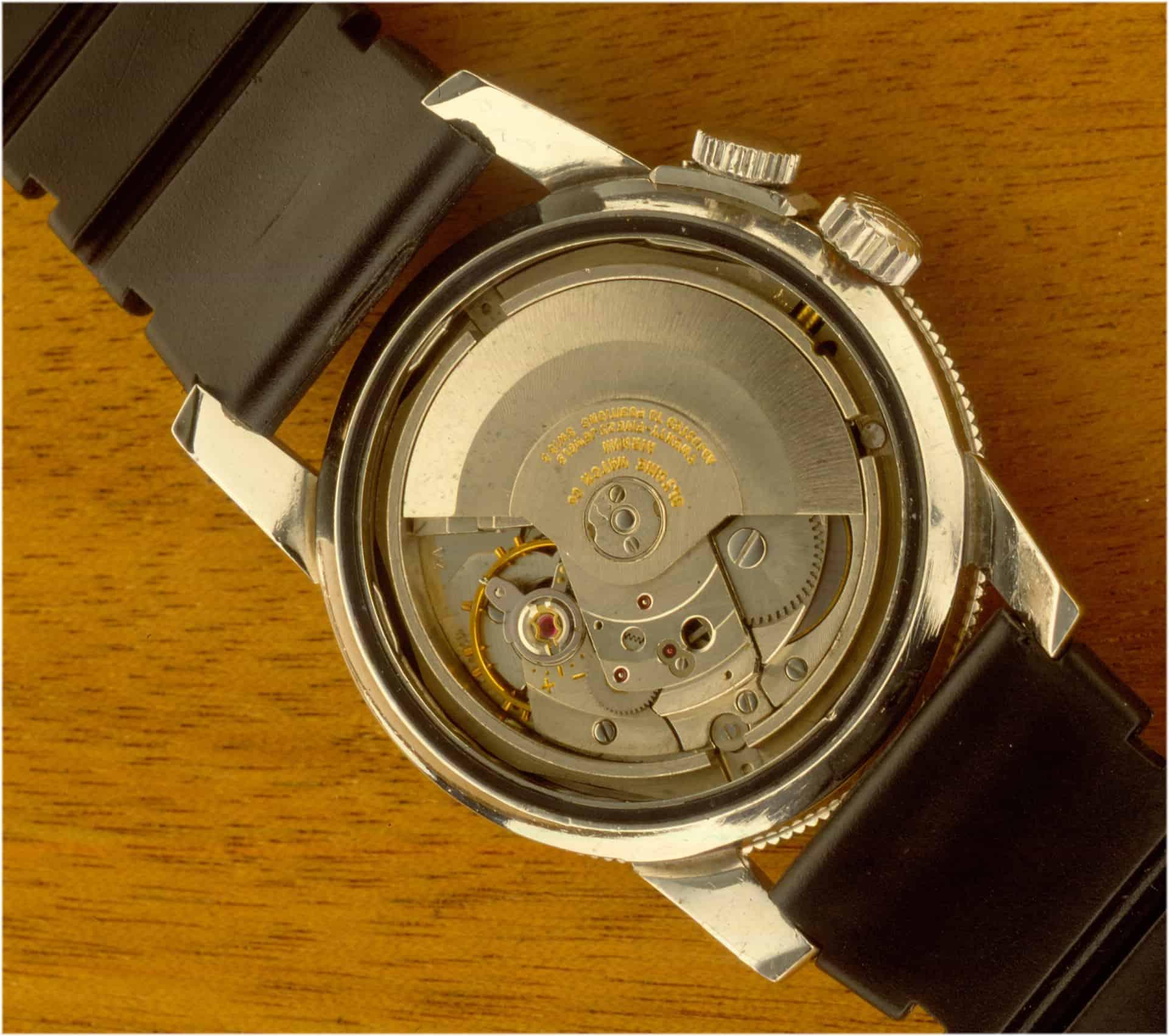 Automatikkaliber 1701 von AS, das in der Glycine Watch arbeitete