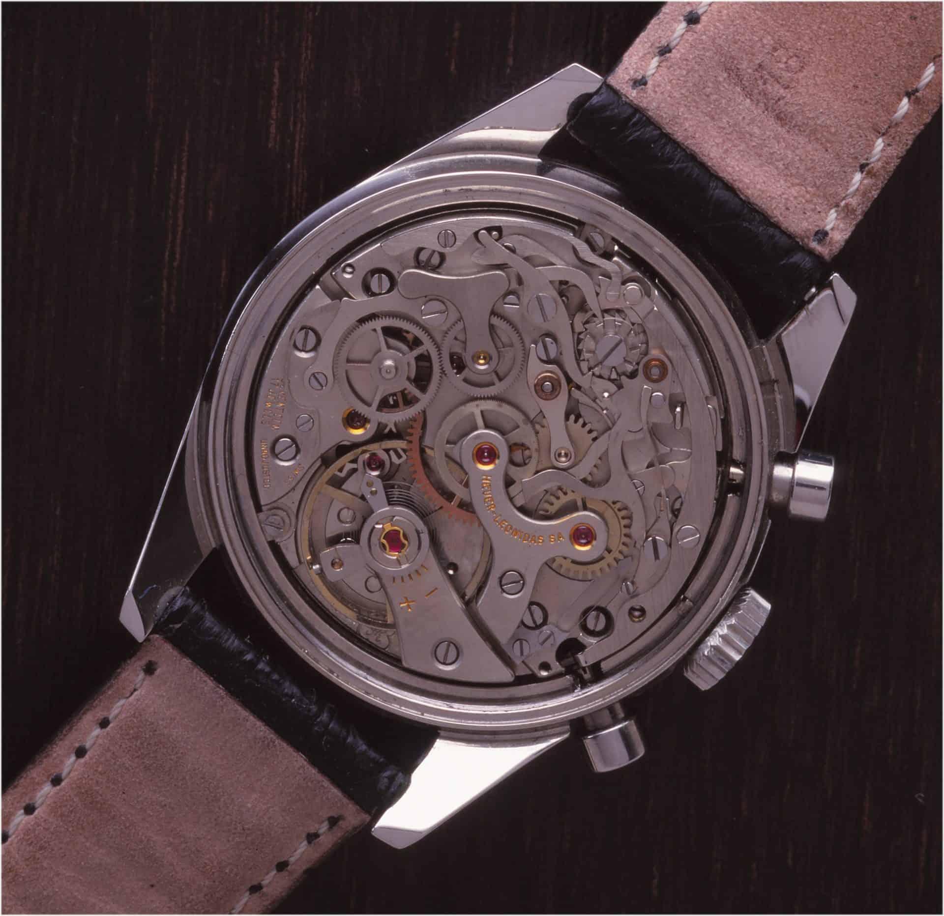 Heuer Carrera 12 Tachymeter Kaliber Valjoux 72 Uhrenkosmos