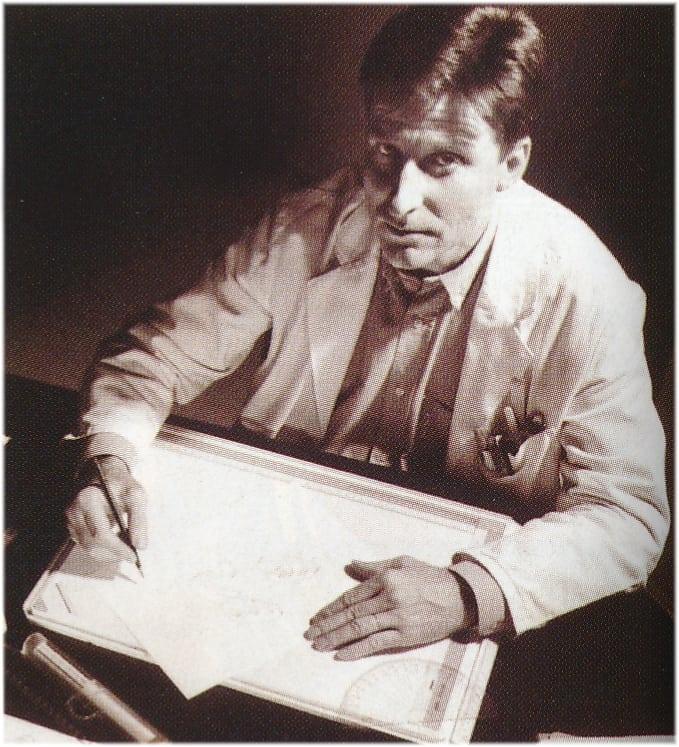 Restaurator und Uhrmachere Michel Parmigiani Mitte der 1990-er Jahre