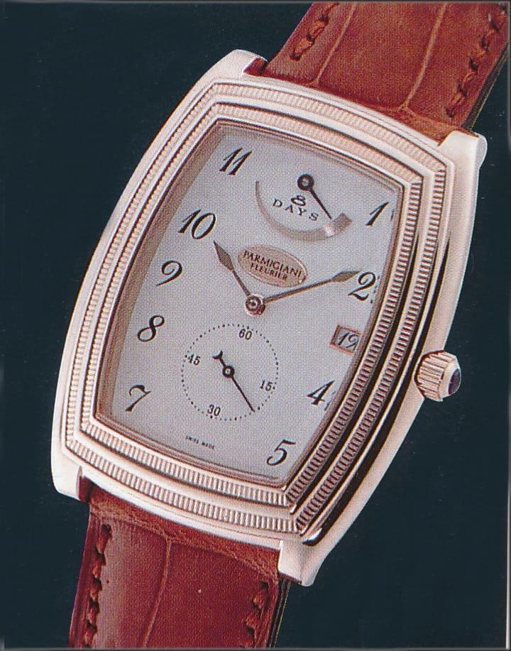 Parmigiani Fleurier Ionica, Referenz C02041, mit dem Kaliber PF110 und ersten hauseigenen Uhrwerk von 1998