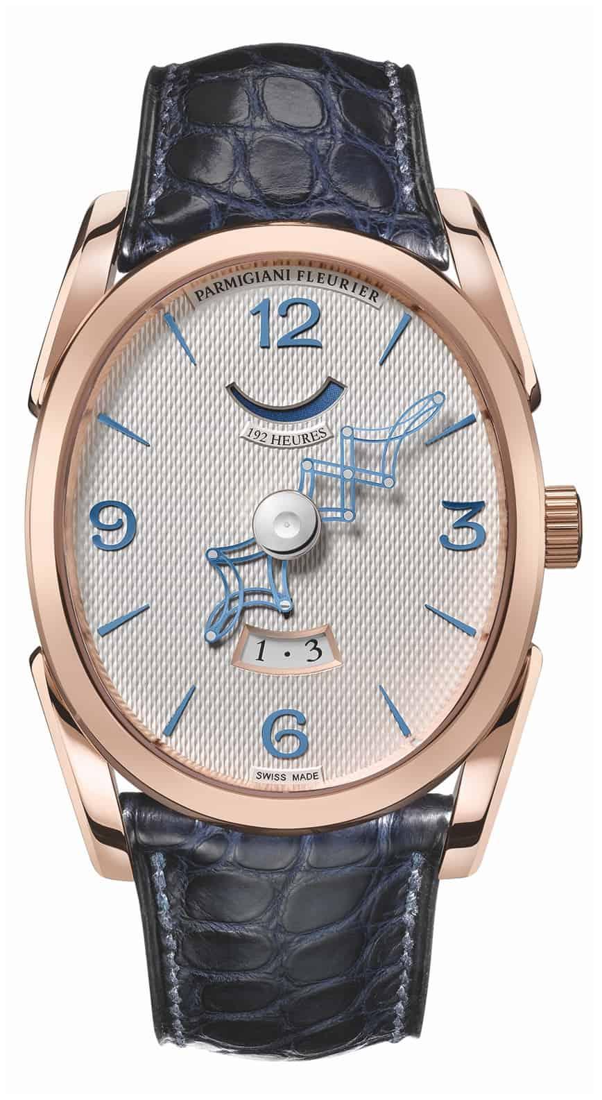 Parmigiani Fleurier Ovale Pantographe Armbanduhr 2013 Gesicht