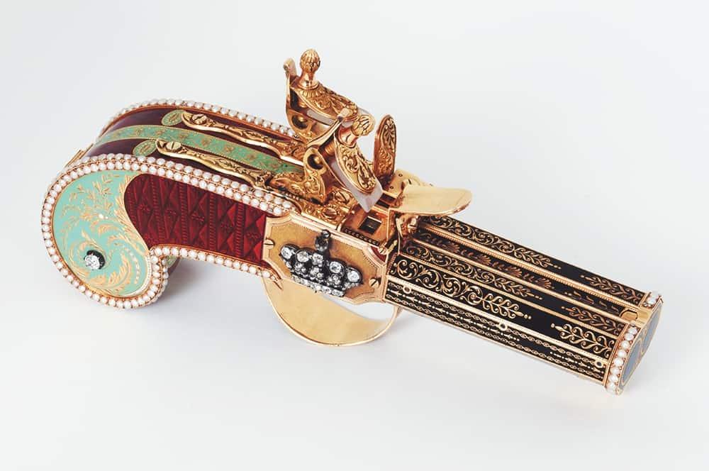 Parmigiani Restaurierungsatelier 02 Pistole mit Parfuemzerstaeuber