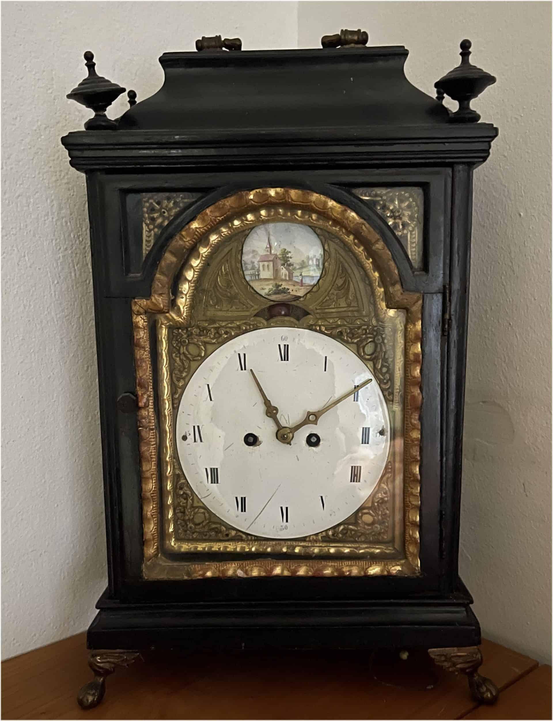 Michel Parmigiani restaurierte historische Uhren