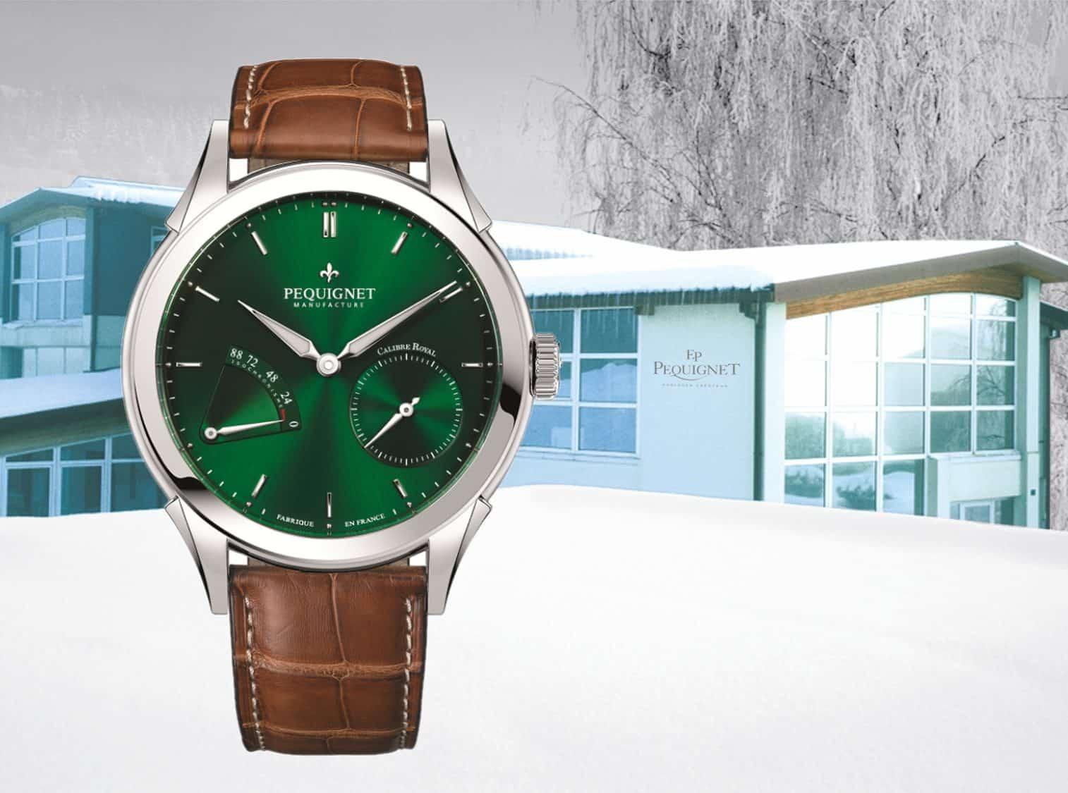 Pequignet Rue Royale Verte EditionPequignet: Die Geschichte der französischen Uhrenmarke und der Pequignet Rue Royale Verte
