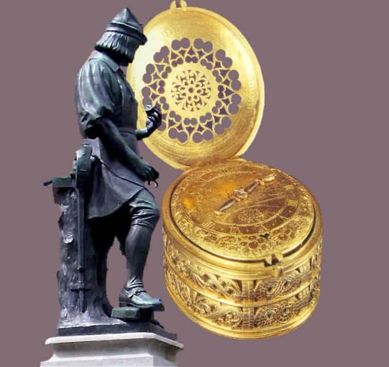 Der Uhrmacher Peter Heinlein und sein Nürnberger Ei
