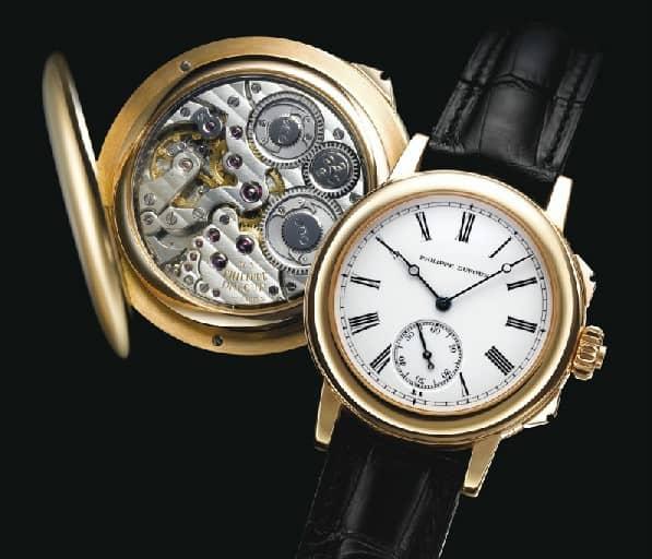 Die weltweit erste Grande Sonnerie Armbanduhr aus dem Jahr 1992 von Philippe Dufour