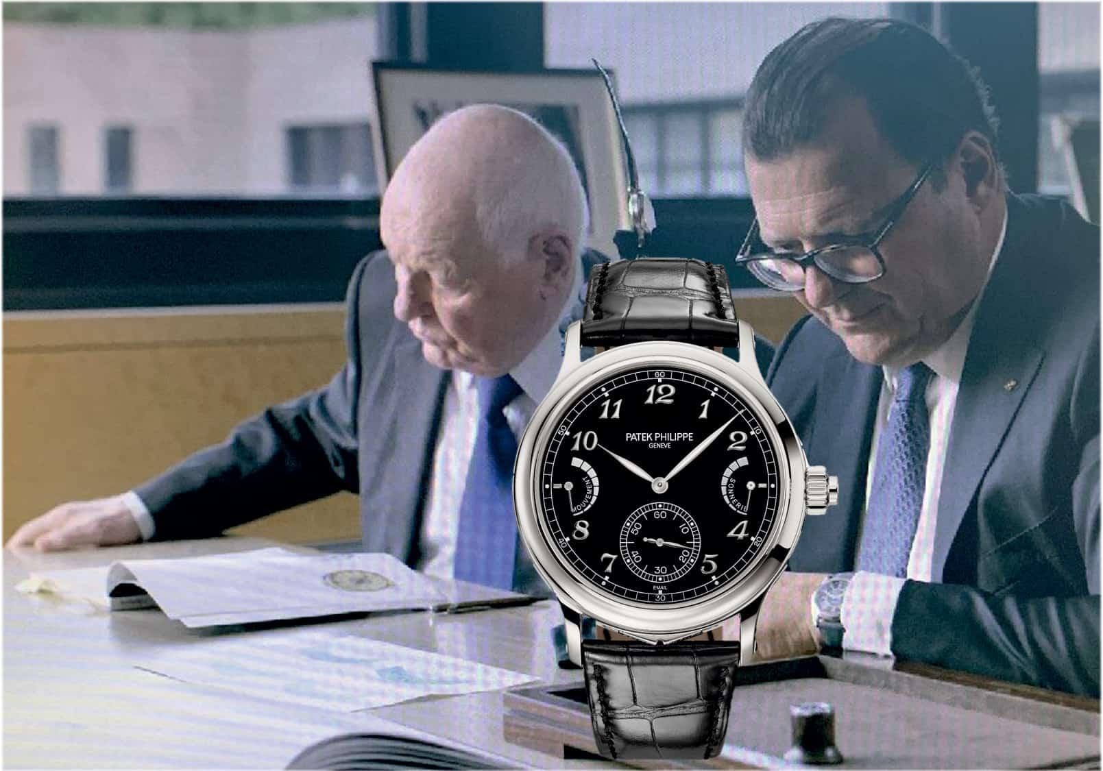 Philippe Stern und Thierry Stern mit Patek Philippe Referenz 6301P Grande Sonnerie Uhrenkosmos