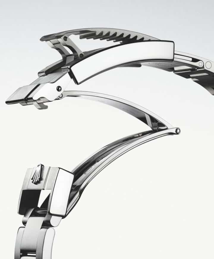 Rolex Glidelock Stahlarmband Verstellsystem