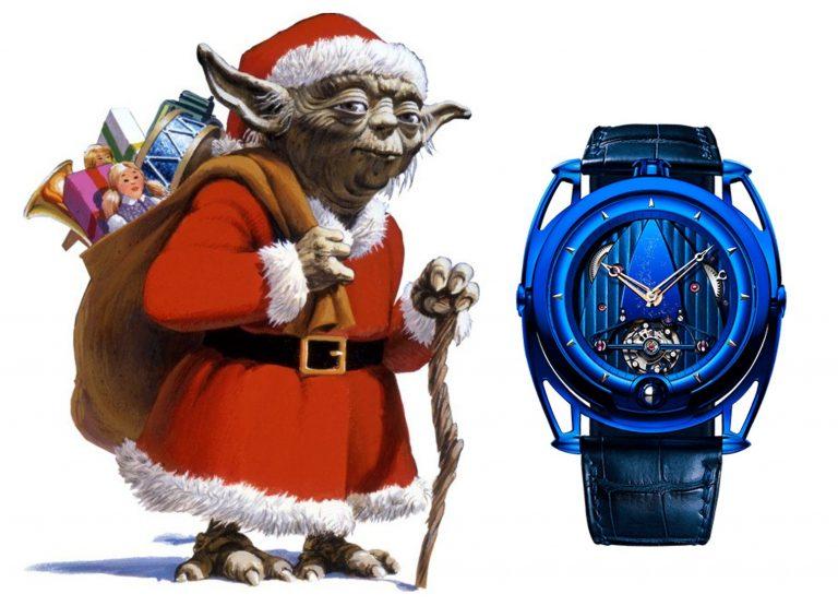 Star Wars Santa Claus Yoda DeBethune DB28