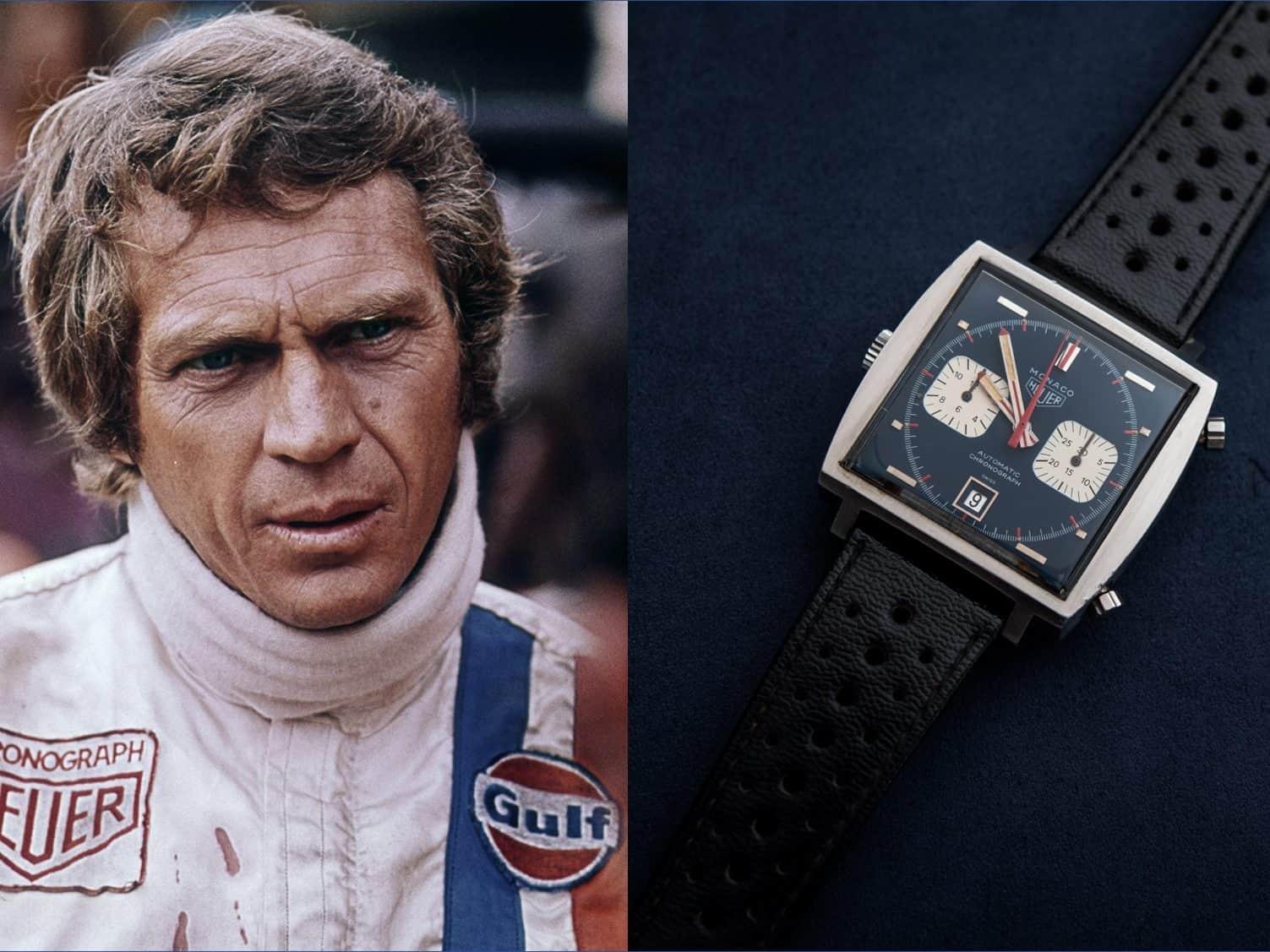 Heuer Monaco Steve McQueen Heuer Monaco Steve McQueen: Das ist ein Rekordpreis!