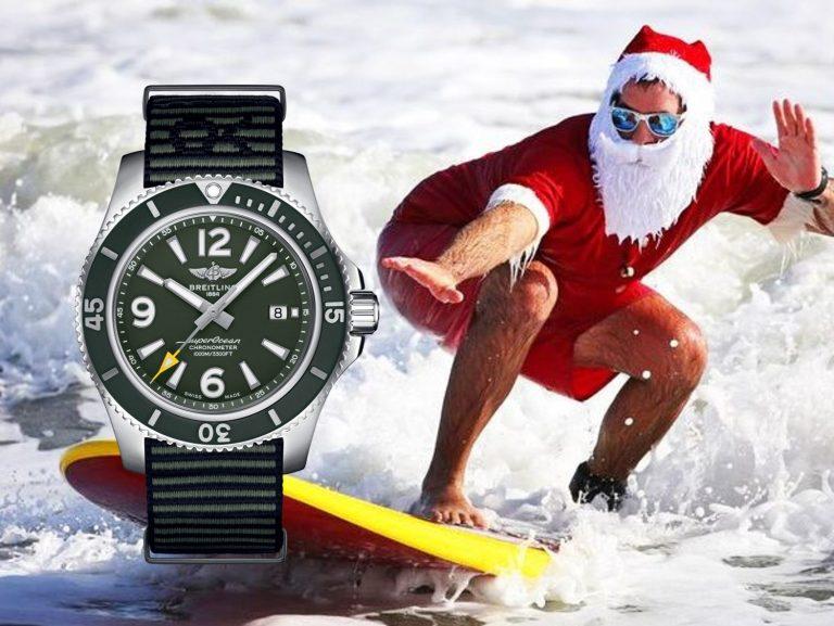 Santa Claus Uhr Breitling SuperOcean Outerknown