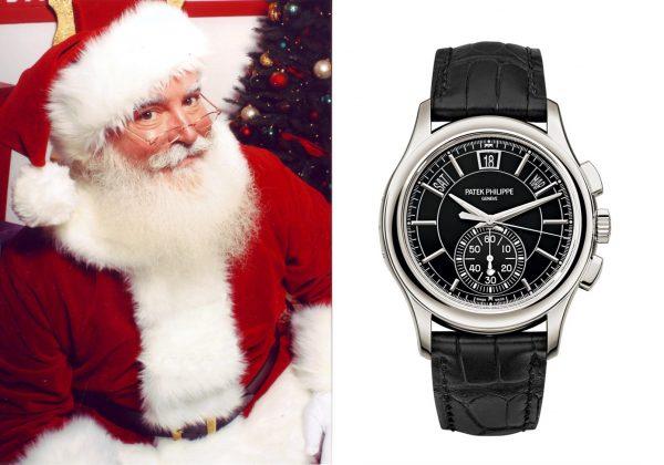 Die Uhr vom Weihnachtsmann!