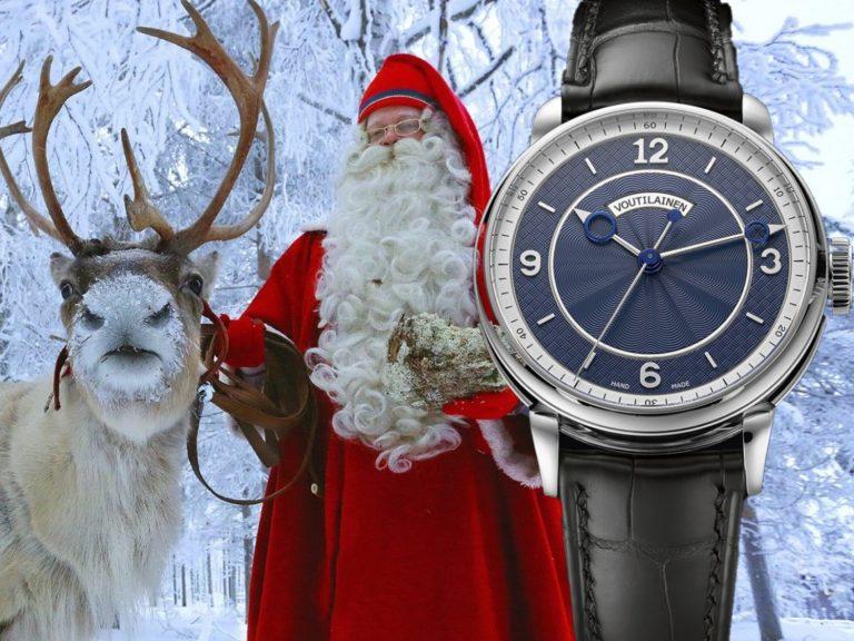 Uhr Weihnachtsmann Kari Voutilainen 28SCC