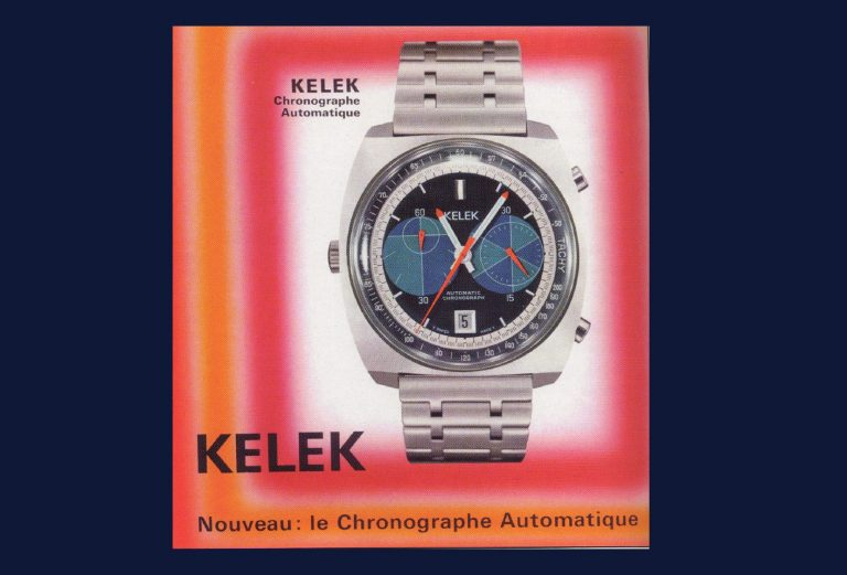Anzeigenmotiv Kelek Automatik Chronograph