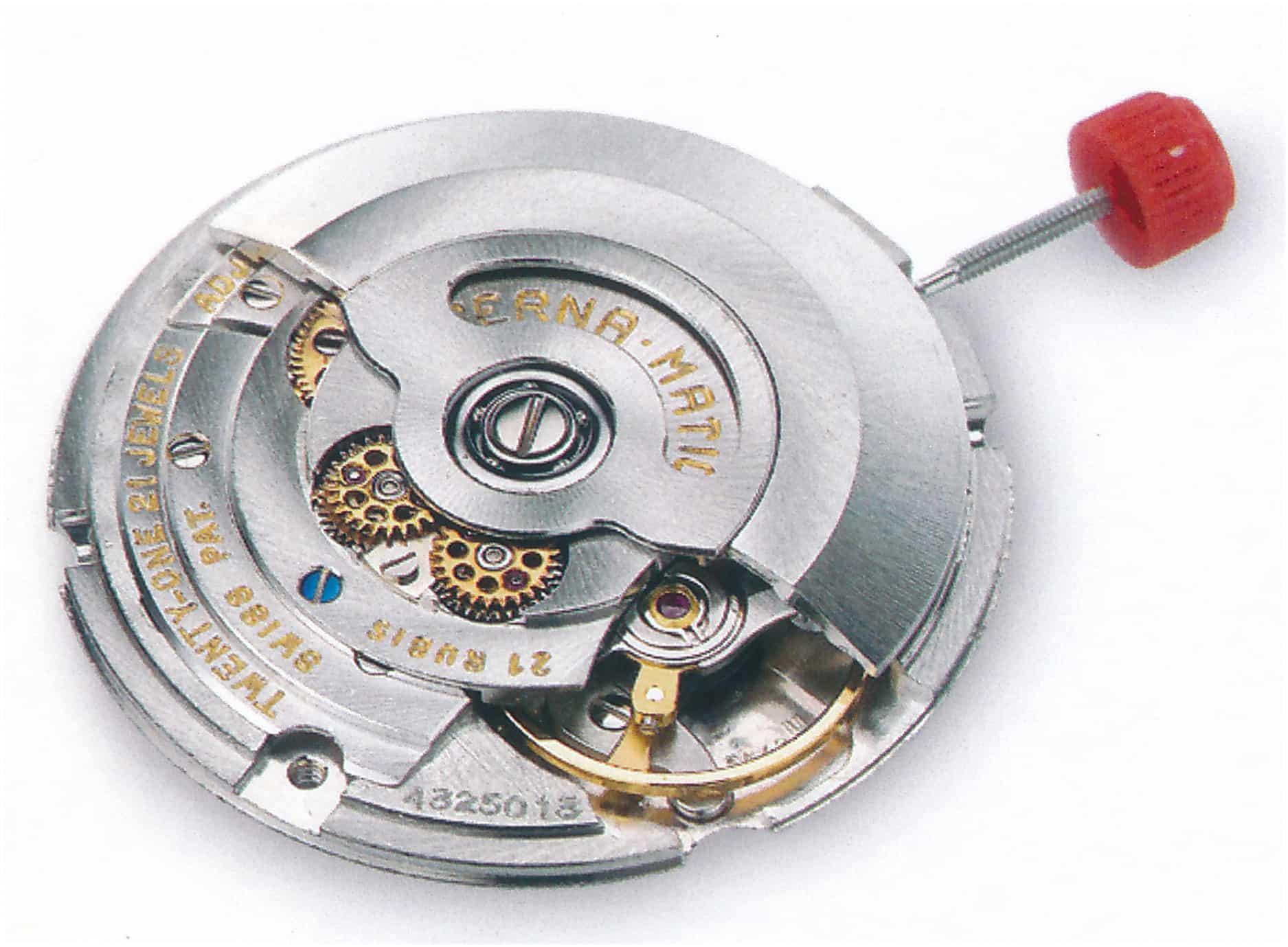 Das Automatikkaliber Eterna 1438 wurde zum ultraflachen Eterna Kaliber 1466U weiterentwickelt