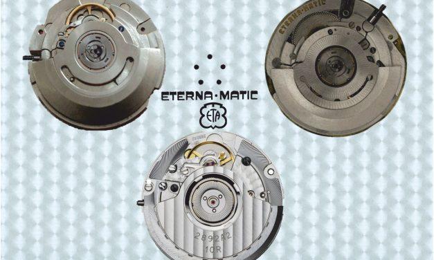 Vom Automatik Kaliber Eterna 1466U zum Automatik Kaliber Eta 2892