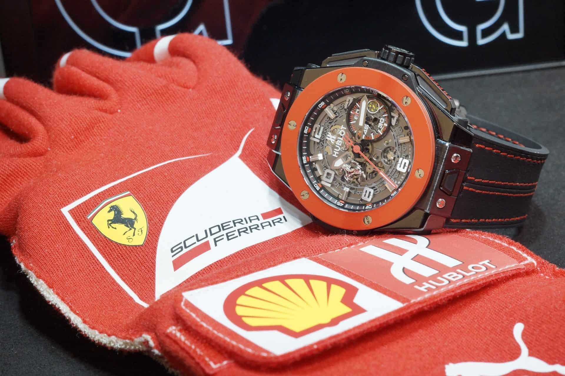 Big Bang Ferrari Red Ceramic Hong Kong