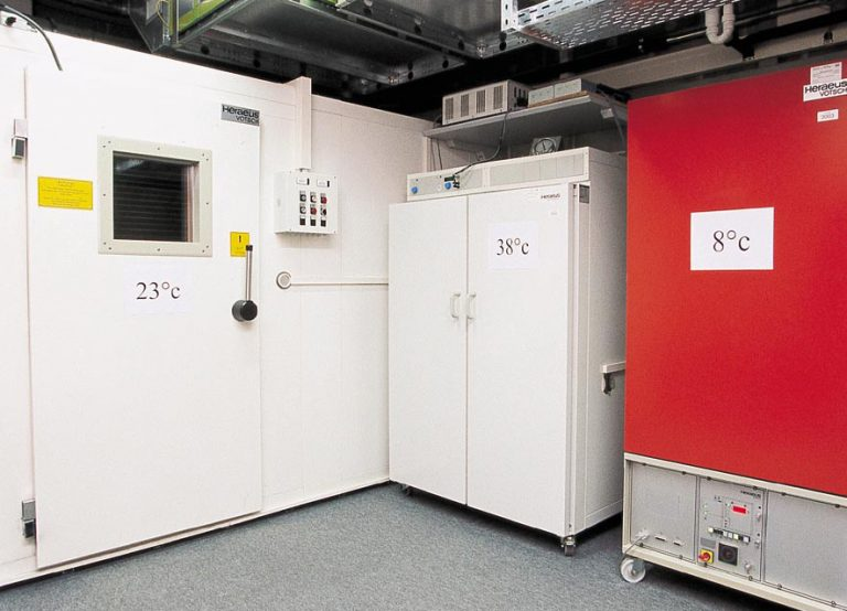 Temperatur Prüfkammern COSC
