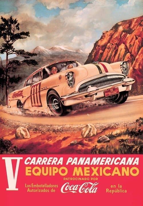 Heuer Carrera Panamericana Plakat