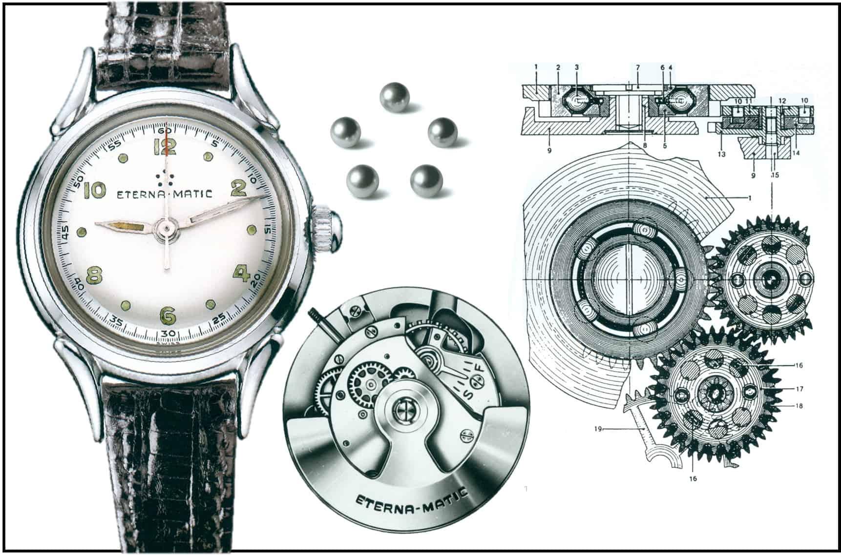 Die revolutionäre Eterna-Matic entwickelte Heinrich Stamm im Jahr 1948