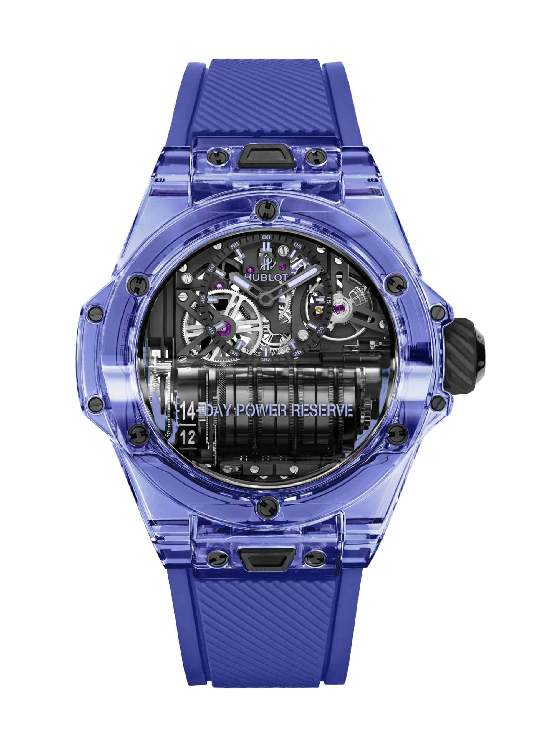Hublot Big Bang MP-11 Blue Sapphire