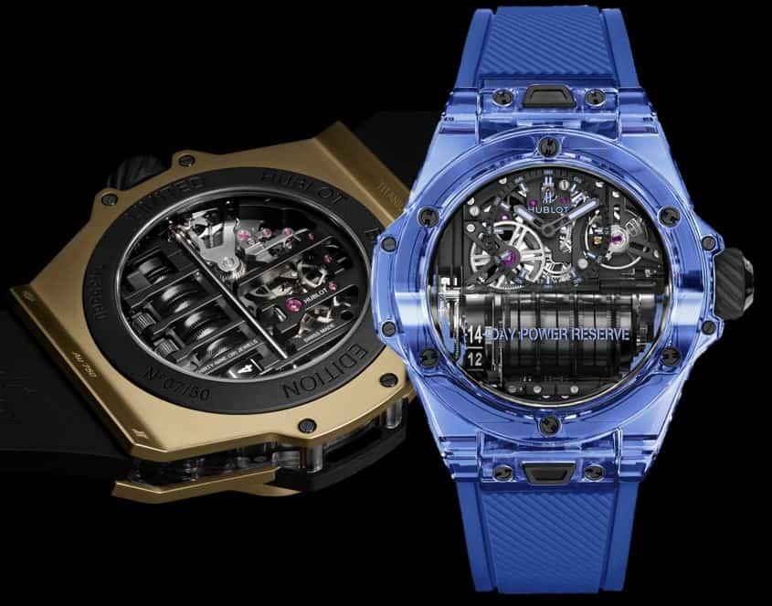 Hublot Big Bang MP-11 Magic Gold und Blue Sapphire