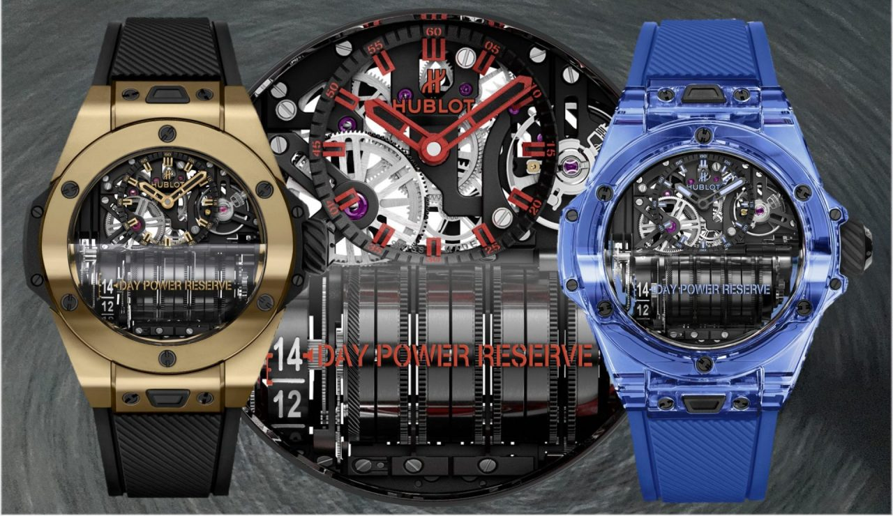 Hublot Big Bang MP-11 Magic Gold und Blue Sapphire – 2 Reihenmotoren fürs Handgelenk