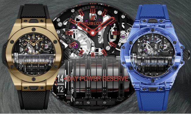 Hublot Big Bang MP-11 Magic Gold und Blue Sapphire – 2 Reihenmotoren fürs Handgelenk
