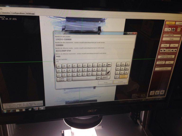Erfassung der Prüfuhren im Computer