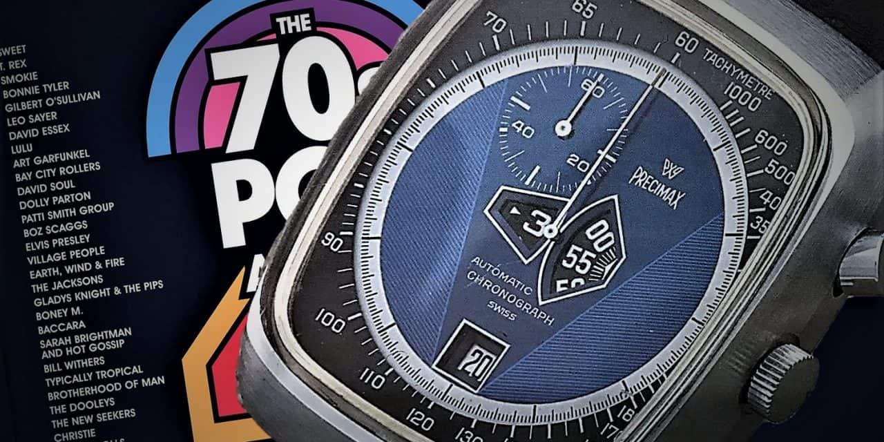 Dieser Kelek Automatik Chronograph ist ein Kind der 70er Jahre