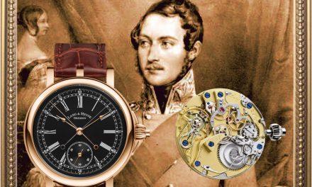Lang & Heyne Albert Chronograph von königlichem Format