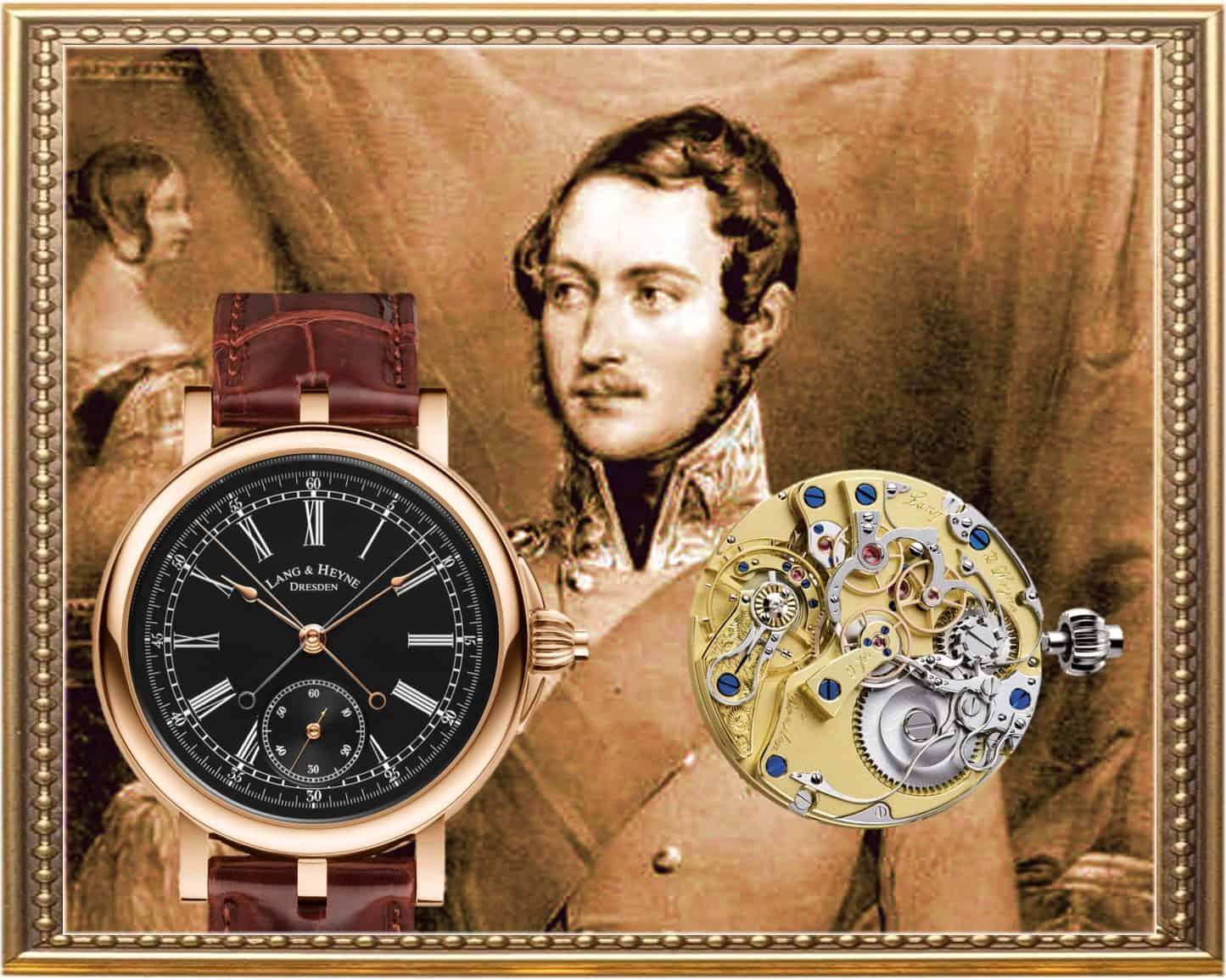 Neuer Lang & Heyne Chronograph AlbertLang & Heyne Albert Chronograph von königlichem Format
