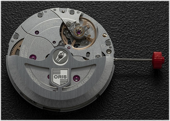 Oris Automatikkaliber Calibre 401 mit kleiner Sekunde
