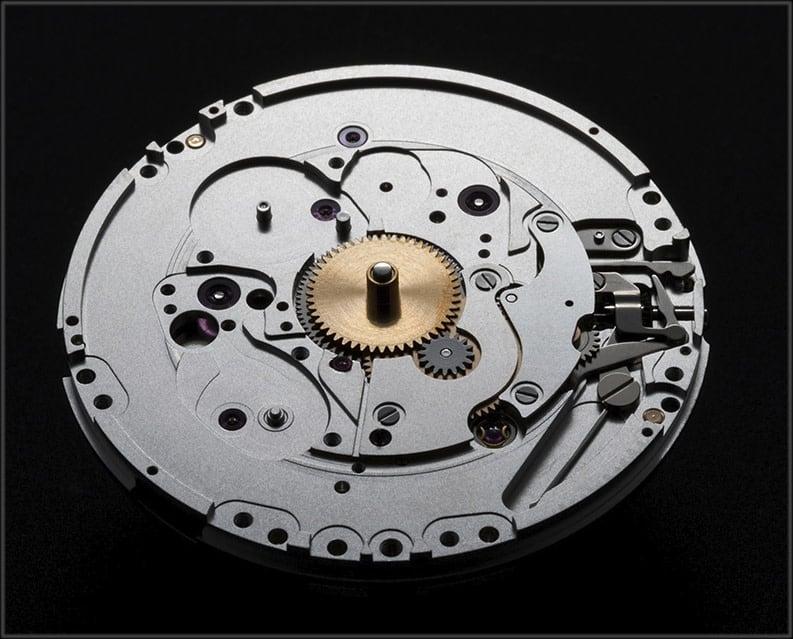 Oris Automatikkaliber Calibre 401 unter Zifferblatt